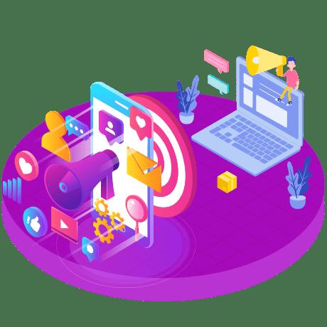 Online promotional campaign - Bahavi Digital